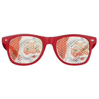 Retro Santa Glasses