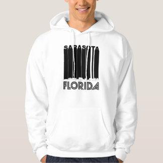 Retro Sarasota Florida Skyline Hoodie