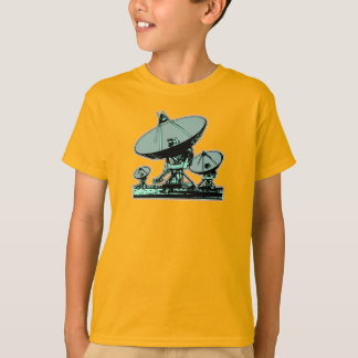 Retro Satellite Dish Graphic T-Shirt