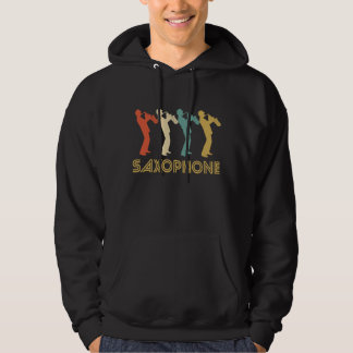 Retro Saxophone Pop Art Hoodie