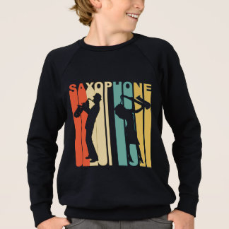 Retro Saxophone Sweatshirt