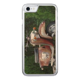 Retro scooter  Apple iPhone 7 Slim Maple Wood Case
