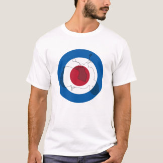 Retro Scooter Silhouette T-Shirt
