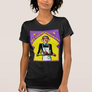 Rétro serveuse vintage de l art 30s Deco de match T-shirt