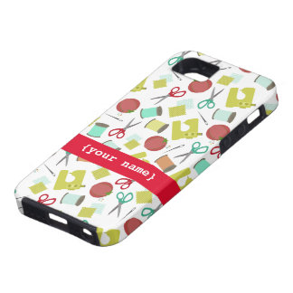 Retro Sewing iPhone 5 Case