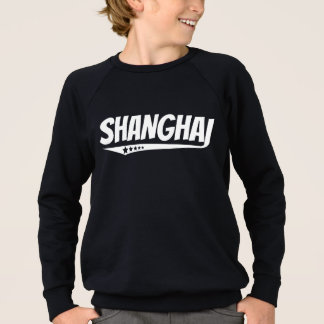 Retro Shanghai Logo Sweatshirt