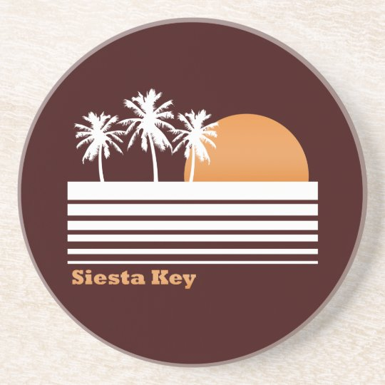 Retro Siesta Key Coasters