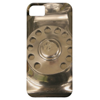 Retro Silver Dial Phone iPhone 5 Covers
