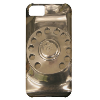 Retro Silver Dial Phone iPhone 5C Covers