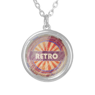 Retro Silver Plated Necklace