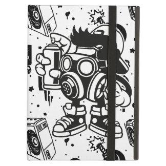 Retro 'Skater' Graffiti Art iPad Air Case