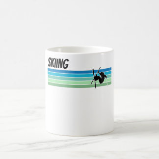 Retro Skiing Coffee Mug