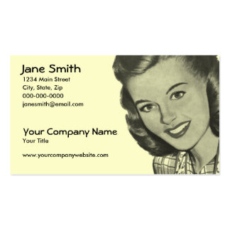 Retro Smile Business Cards