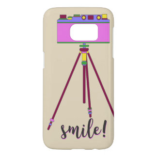 Retro Smile Samsung Galaxy S7 Case