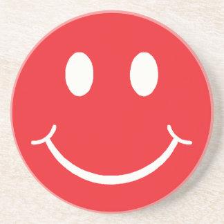 Retro Smiley Coaster