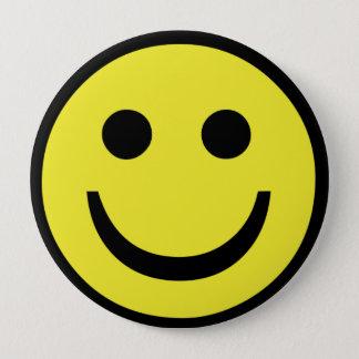 retro Smiley face 4 Inch Round Button