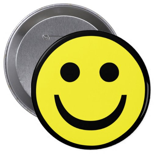 retro Smiley face Buttons