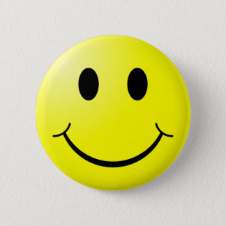 Retro Smiley Pin