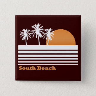 Retro South Beach Button