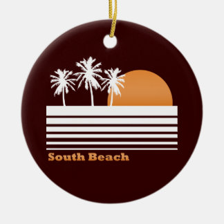 Retro South Beach Ornament