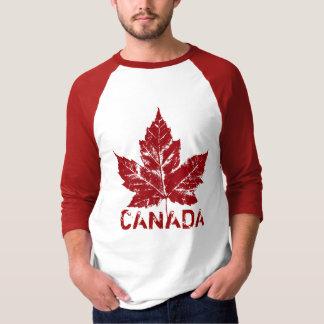 Rétro souvenir frais de feuille d'érable du Canada Tee-shirts