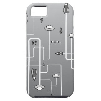 Retro Space Flight iPhone 5 Cover