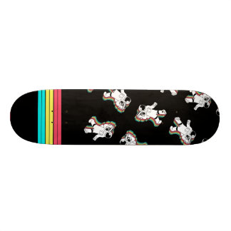 Retro Spaceman With Boombox Skateboard Deck