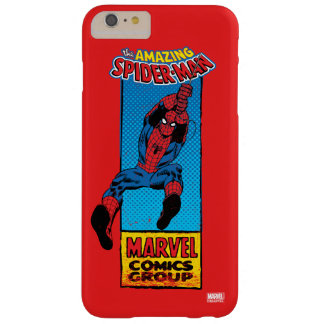 Retro Spider-Man Comic Graphic Barely There iPhone 6 Plus Case