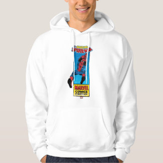 Retro Spider-Man Comic Graphic Hooded Pullovers