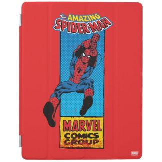 Retro Spider-Man Comic Graphic iPad Cover