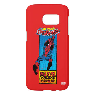 Retro Spider-Man Comic Graphic Samsung Galaxy S7 Case