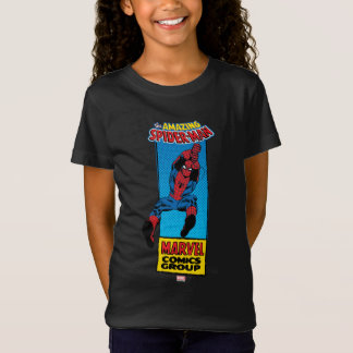 Retro Spider-Man Comic Graphic T-Shirt