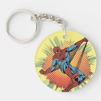 Retro Spider-Man Spidey Senses Keychain