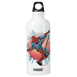 Retro Spider-Man Spidey Senses Water Bottle