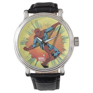 Retro Spider-Man Spidey Senses Wrist Watches