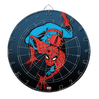 Retro Spider-Man Wall Crawl Dartboard