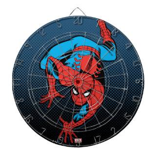 Retro Spider-Man Wall Crawl Dartboard With Darts
