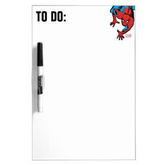 Retro Spider-Man Wall Crawl Dry-Erase Whiteboard