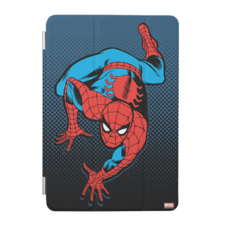 Retro Spider-Man Wall Crawl iPad Mini Cover