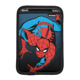 Retro Spider-Man Wall Crawl iPad Mini Sleeve