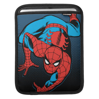 Retro Spider-Man Wall Crawl iPad Sleeve