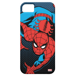 Retro Spider-Man Wall Crawl iPhone 5 Covers