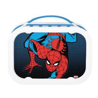 Retro Spider-Man Wall Crawl Lunch Box
