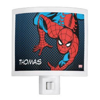 Retro Spider-Man Wall Crawl Nite Lites
