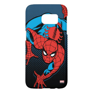 Retro Spider-Man Wall Crawl Samsung Galaxy S7 Case