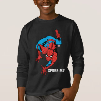 Retro Spider-Man Wall Crawl Tees