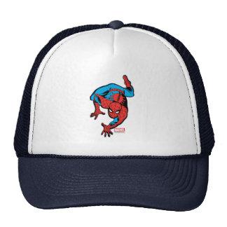 Retro Spider-Man Wall Crawl Trucker Hat