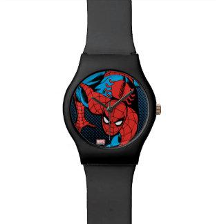 Retro Spider-Man Wall Crawl Wrist Watch