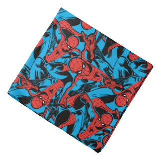 Retro Spider-Man Web Shooting Bandana