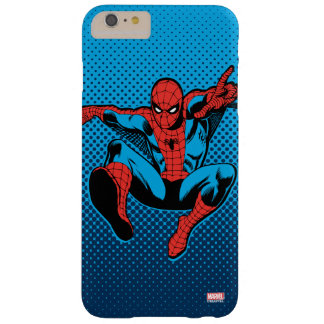 Retro Spider-Man Web Shooting Barely There iPhone 6 Plus Case